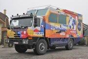 Špeciál 815 4x4 pre expedíciu Tatra kolem světa 2.