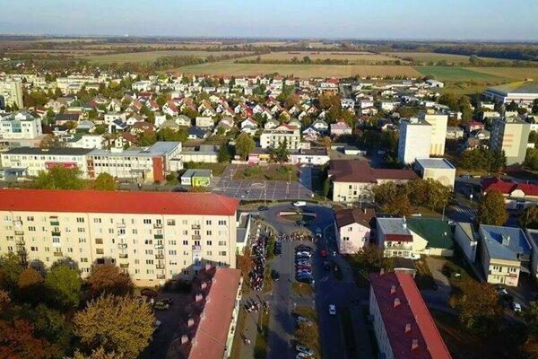 Mesto Trebišov.