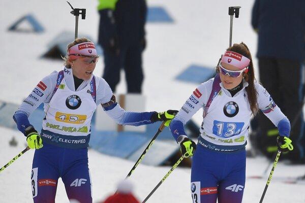 Terézia Poliaková (vľavo) a Veronika Machyniaková.