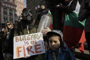 V bulharskej Sofii sa konala demonštrácia.