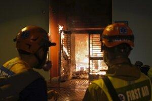 Hasičom sa požiar podarilo uhasiť.