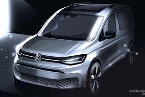 Volkswagen Caddy štvrtej generácie.