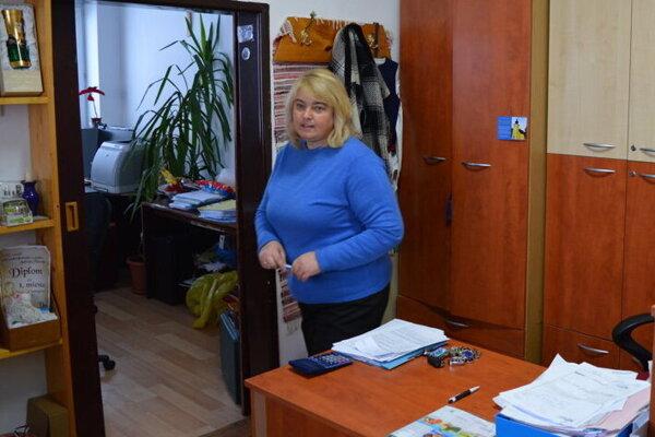 Ľubica Zdravecká (KDH), starostka obce Tichý Potok.