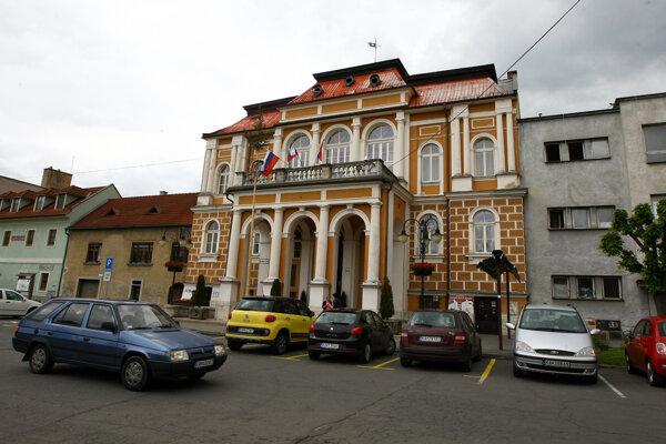 Krupinská radnica. Archívne foto.