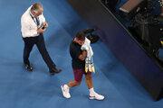 Federer počas Australian Open 2020.