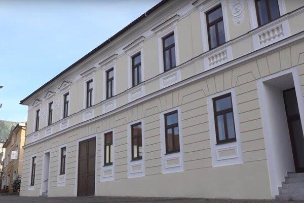 Meštiansky dom v Prievidzi.