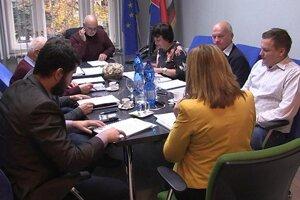 Zastupiteľstvo v Moldave nad Bodvou.