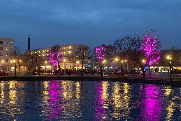 Švédske mestečko Filipstad.