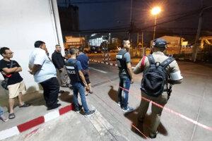 Polícia uzavrela miesto činu.