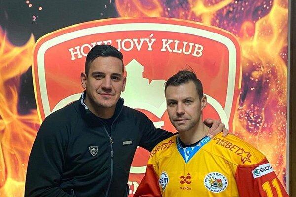 Branko Radivojevič s Rastislavom Špirkom.