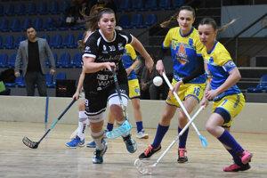 Zo zápasu Sabinova so Spišskou Novou Vsou.