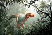 Umelecká predstava o novom druhu tyranosaura.