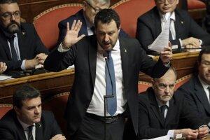 Salvini je obvinený z únosu.
