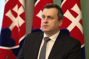 Predseda Národnej rady SR a Slovenskej národnej strany Andrej Danko.