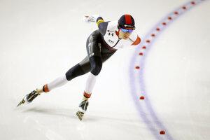 Česká reprezentantka v rýchlokorčuľovaní Martina Sáblíková.