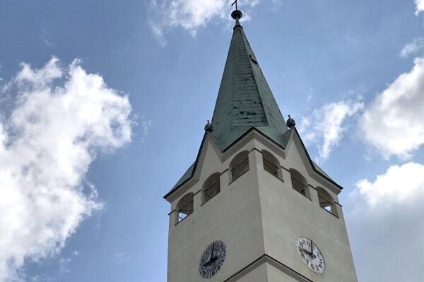 Veža Sanktuária Najsvätejšieho Tela a Krvi v Stropkove.