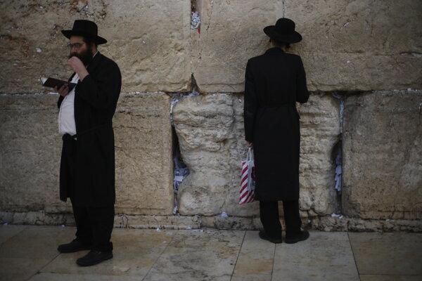 Múr nárekov v Jeruzaleme.