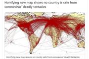 Zavádzajúca mapa neukazuje šírenie vírusu.