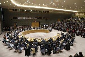 Zasadnutie Bezpečnostnej rady OSN.