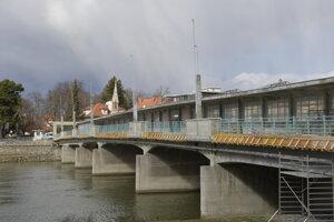 Kolonádový most v Piešťanoch.