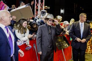 Johnny Depp má na Berlinale nový film.