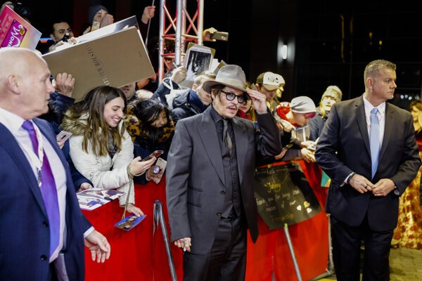 Johnny Depp má na Berlinale nový film.