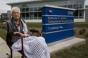 Výskumné pracovisko pomenované po Katherine Johnsonovej.