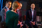 Pozrite si, ako to vyzeralo na finálových predvolebných debatách SME (foto)