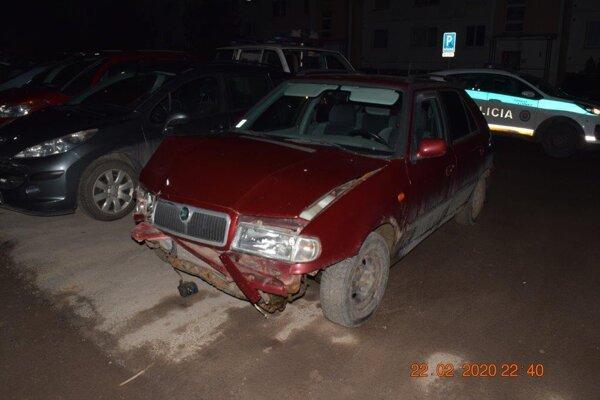 Jeden z vodičov spôsobil škody.