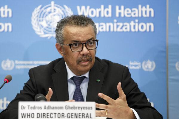 Tedros Adhanom Ghebreyesus, riaditeľ Svetovej zdravotníckej organizácie.