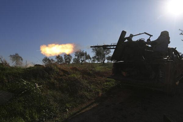 Sýrska armáda sa Sarákibu zmocnila pred takmer troma týždňami.