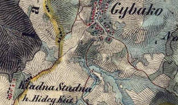 Na súčasných mapách už Chladnej Studne niet.