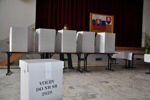 Voľby do NR SR v Zákamennom.