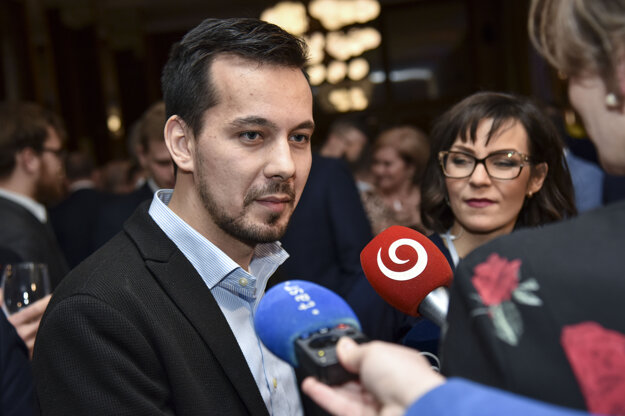 Voľby 2020: Podpredseda strany Za ľudí Juraj Šeliga reaguje na prvé volebné odhady počas volebnej noci.