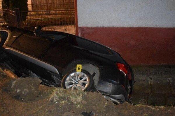 Po dopravnej nehode.
