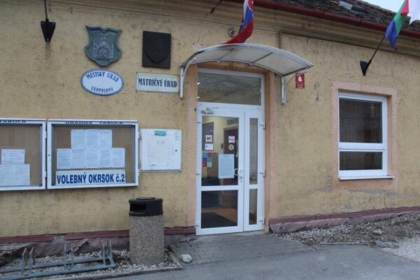 Mestský úrad v Leopoldove