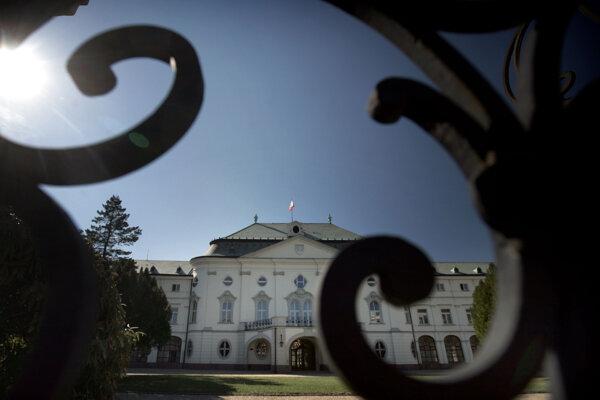 Historická budova Úradu vlády.