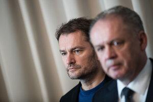 Igor Matovič a Andrej Kiska o povolebných rokovaniach.