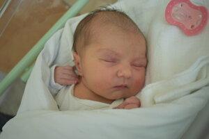 Nina Prekopová (3040 g, 49 cm) sa narodila 24. februára Andrei a Ľubošovi z Bolešova.