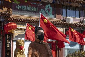 Obyvateľka Pekingu.
