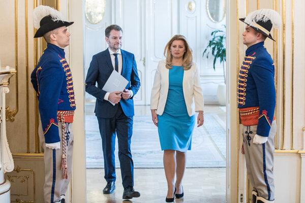 Voľby 2020: Zuzana Čaputová poverila Igora Matoviča zostavením vlády.