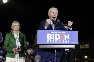 Bývalý viceprezident Joe Biden.