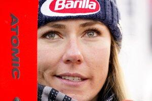 Americká lyžiarka Mikaela Shiffrinová.