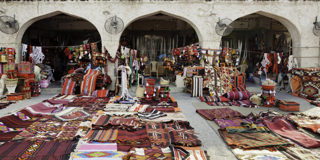 Srdce starej Dauhy - trh Souq Waqif