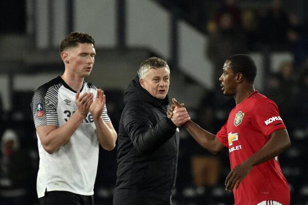 Manchester United postúpil do osemfinále FA Cupu.