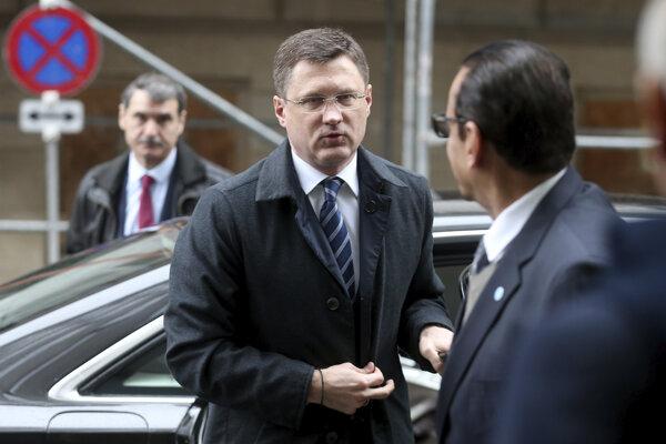 Ruský minister energetiky Alexander Novak.