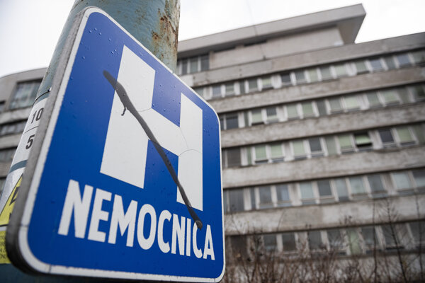 Klinika infektológie Univerzitnej nemocnice Bratislava (UNB) na Kramároch.