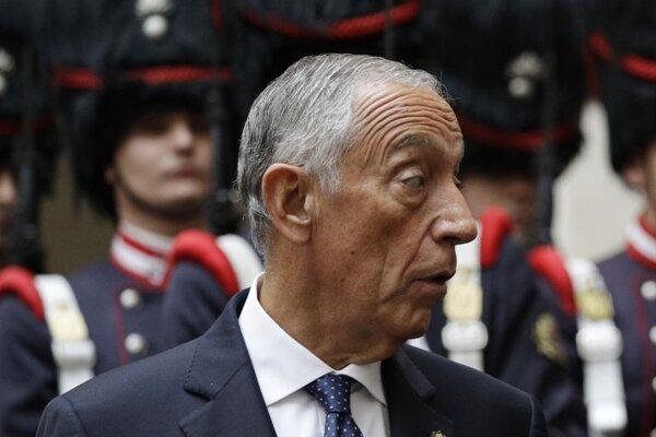 Portugalský prezident Marcelo Rebelo de Sousa.