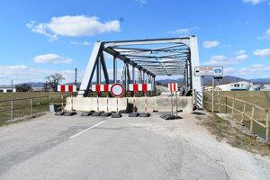 Kanálový most v Ilave uzavreli koncom roka 2018.