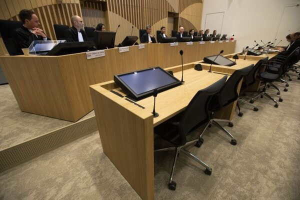 Súdna sieň v Amsterdame.